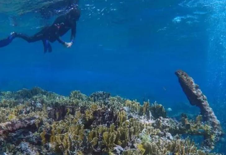 Hallan en México restos de naufragio de hace más de 200 años (FOTOS)