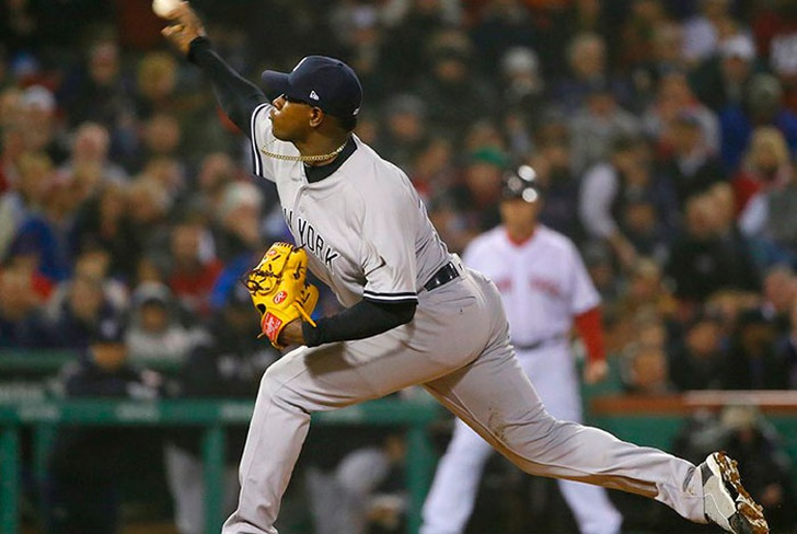 yankees, new york, boston, red sox, mlb, beisbol, luis, severino, aroldis, chaman, aaron, judge,-Severino luce en victoria de Yanquis sobre Medias Rojas