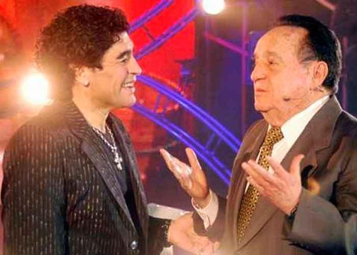 El día que Maradona se declaró fan de 'El chavo del Ocho'