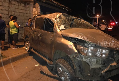 Comerciante chinandegano fallece en aparatoso accidente