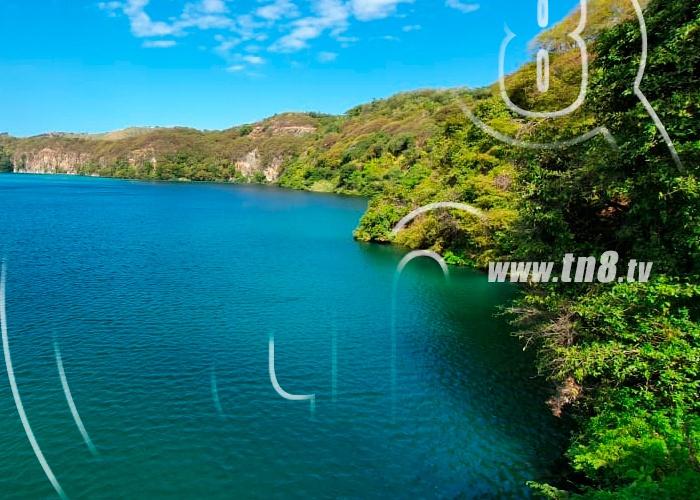 nicaragua, managua, enacal, fenomeno natural, laguna de asososca, volteo termino,