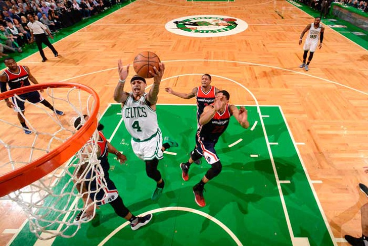 isaiah, thomas, boston, celtics, washington, wizards, john, wall, al horford,