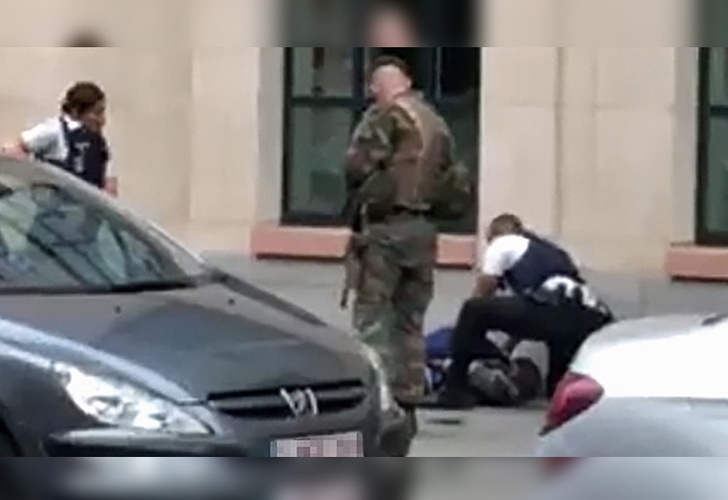 Bruselas: un hombre apuñala a dos militares