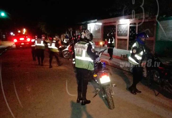 Policía muere de un balazo en Ciudad Sandino