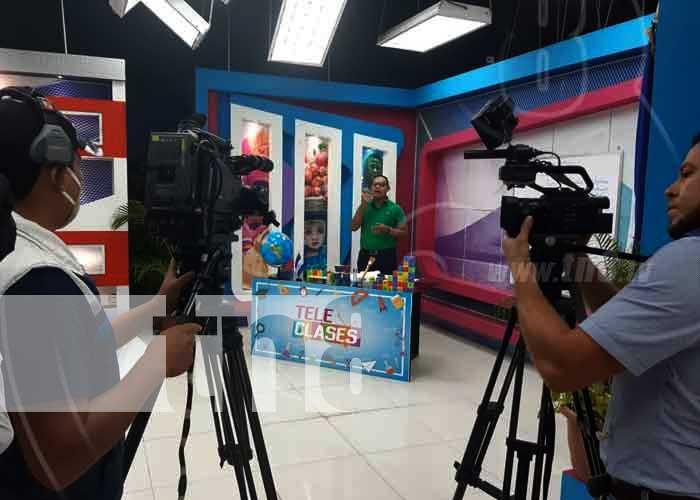 nicaragua, teleclases, colegio, educacion, television, aprendizaje,