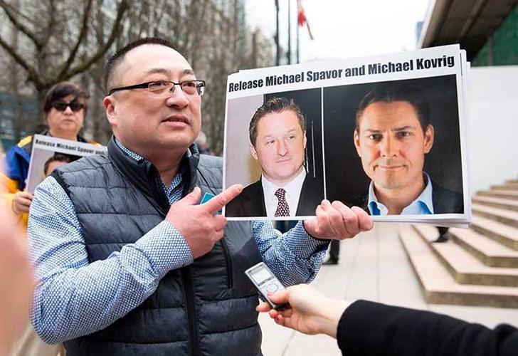 China formaliza arresto a dos canadienses por espionaje