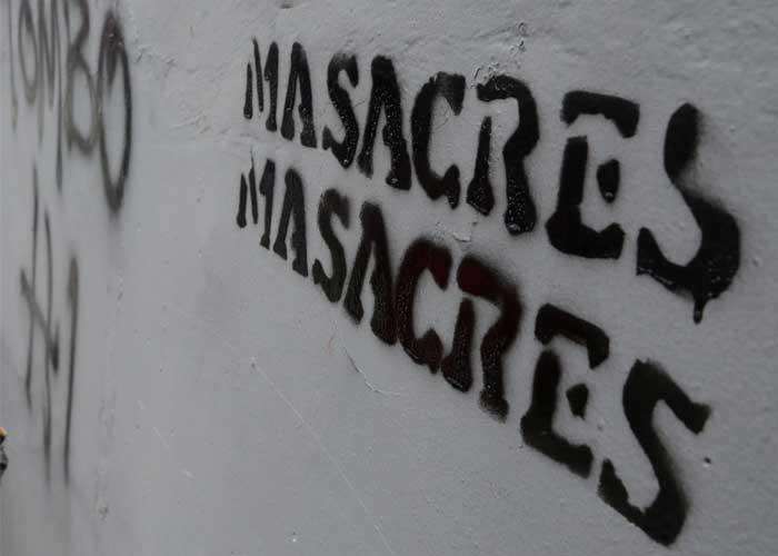 Nueva masacre en Colombia deja tres asesinados