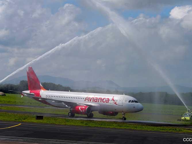 nicaragua, aeropuerto, reinicio, operaciones, vuelos comerciales, avianca,