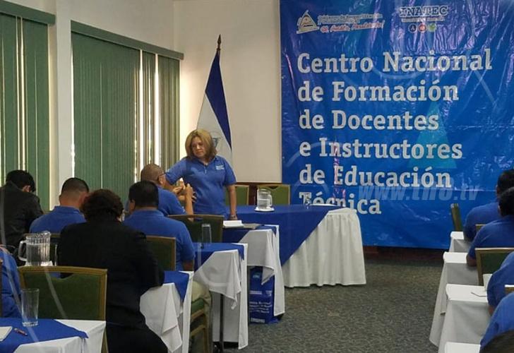 nicaragua, docentes, instructores, formacion, tecnologico nacional,
