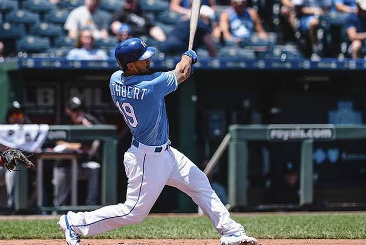 cheslor cuthbert, mlb, baseball, kansas, omaha, boer,