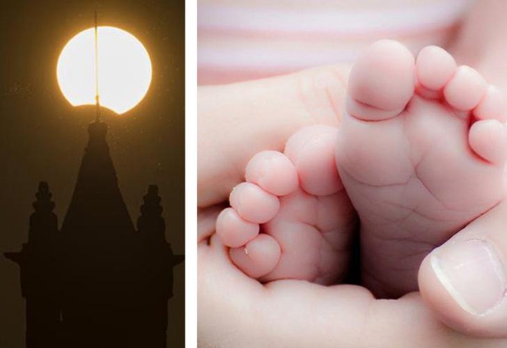 Nombrarán a bebé Eclipse tras fenómeno astronómico