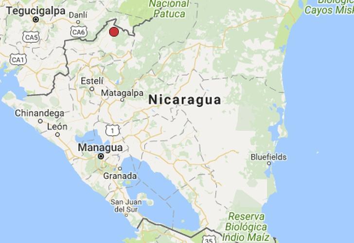 Nicaragua: Sismo de 4,3 al noreste de Ocotal on pueblo nuevo nicaragua map, poneloya nicaragua map, santa clara nicaragua map, isla de ometepe nicaragua map, masaya nicaragua map, san francisco libre nicaragua map, santa teresa nicaragua map, el sauce nicaragua map, jalapa nicaragua map, jinotepe nicaragua map, boaco nicaragua map, corinto nicaragua map, camoapa nicaragua map, laguna de apoyo nicaragua map, bonanza nicaragua map, san juan nicaragua map, chichigalpa nicaragua map, siuna nicaragua map, miramar nicaragua map,
