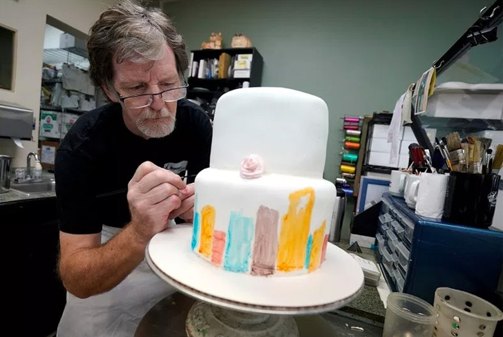 estados unidos, colorado, jack phillips, pareja gay, pastel de bodas, denver, pastelero,
