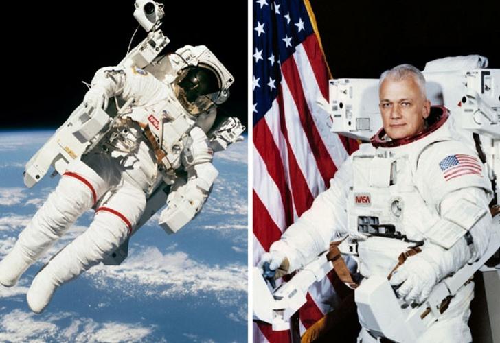 Astronauta Flotando En El Espacio Exterior: Murió El Primer Astronauta Que Flotó Libremente En El