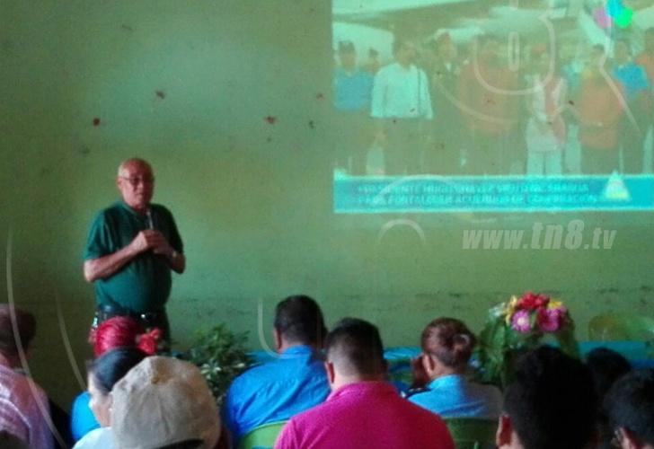 Rinden homenaje al Comandante Eterno — Matagalpa