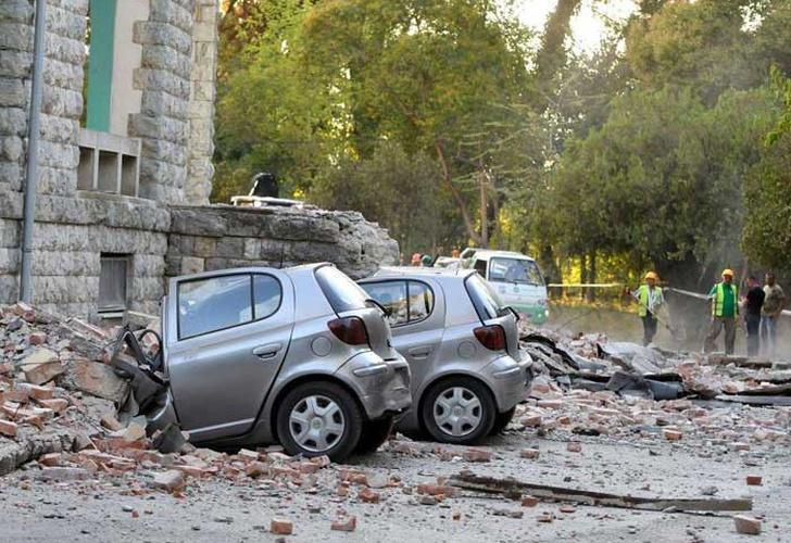 albania, tirana, europa, terremotos, personas heridas, replicas, asistencia medica,