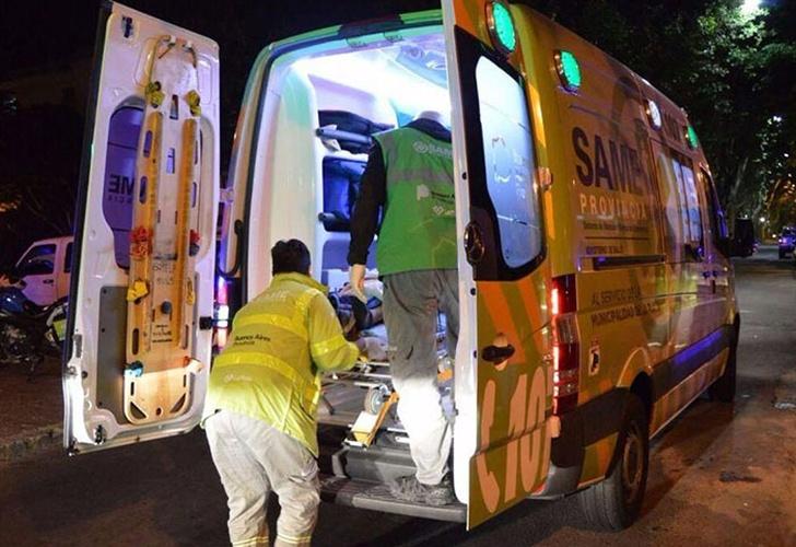Incendio en una clínica de La Plata: un muerto y 50 heridos