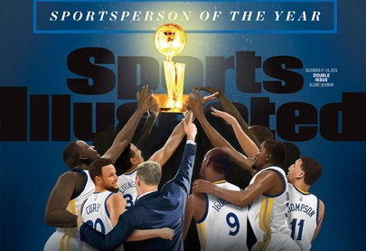Warriors nombrados Deportista del Año por Sports Illustrated