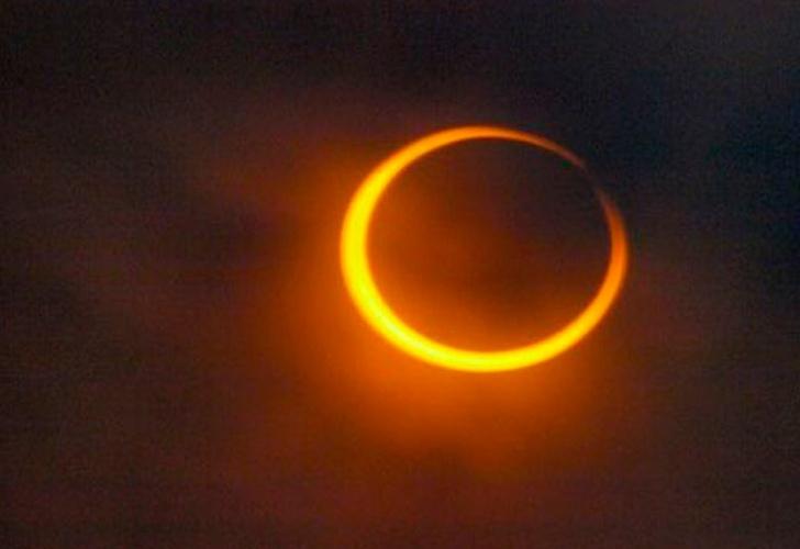El eclipse de Sol hará que usted baje de peso