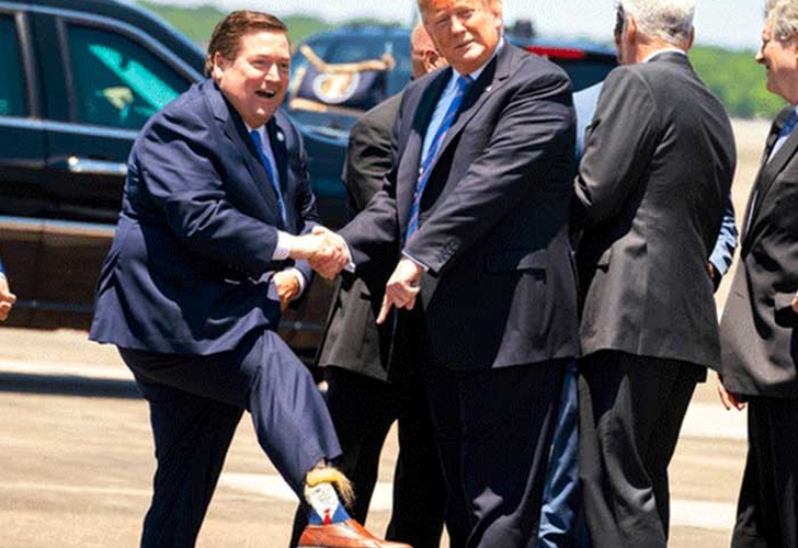 estados unidos, donald trump, calcetines, twitter, Billy Nungesser,