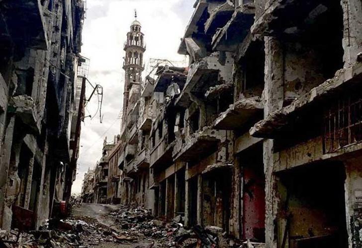 Explosión en bus deja 11 muertos en Homs, Siria