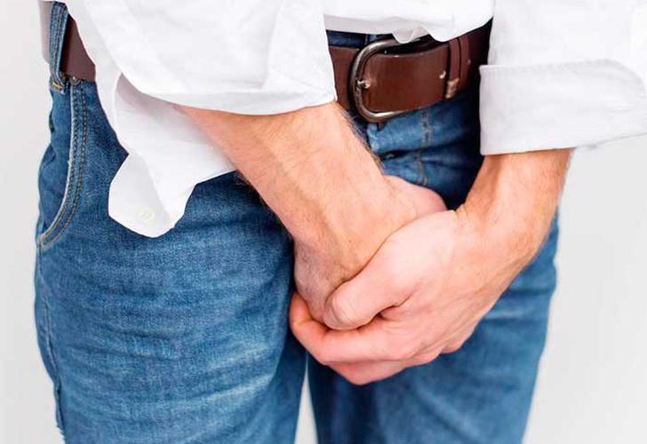 dolor de próstata intermitentes