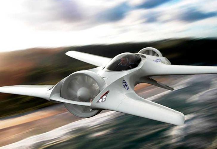 DeLorean Motor Company lanzará un auto volador
