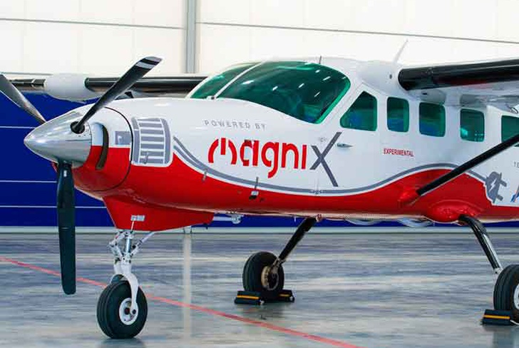 magnix, avion electrico, primer vuelo, washington,