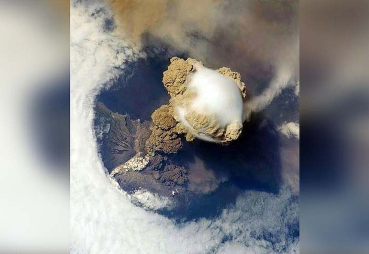 Volcán de Fuego, cenizas de volcán, erupción del Volcán de Fuego,