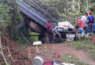 Mortal accidente de tránsito en Rancho Grande, Matagalpa