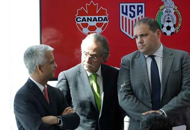 Mundial 2026: EEUU, México y Canadá lanzan candidatura