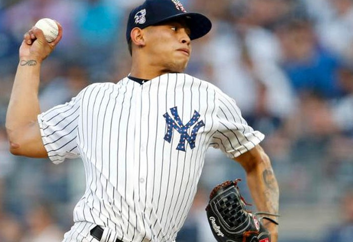 mlb, yankees, jonathan loaisiga, playoffs, usa,