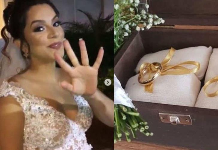 Novia embarazada muere a pasos del altar y bebé nace de emergencia