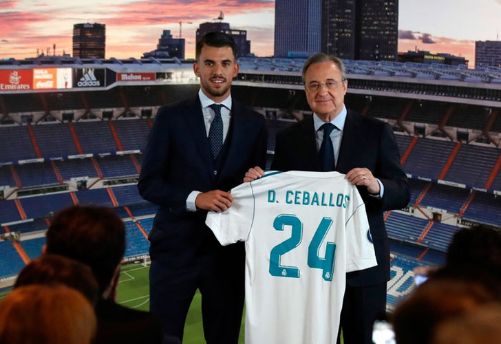 Real Madrid anunció la llegada del jugador del