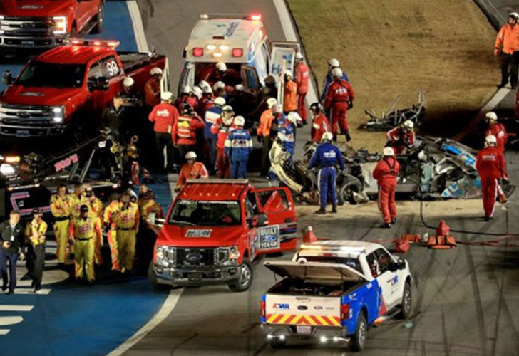 deportes, piloto, accidente, carreras, ryan newman, daytona 500,