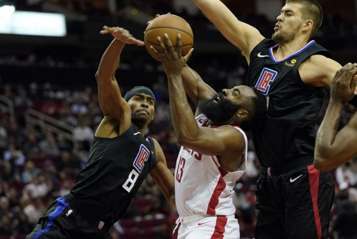 houston rockets, nba, clippers, james harden, patrick beverly,