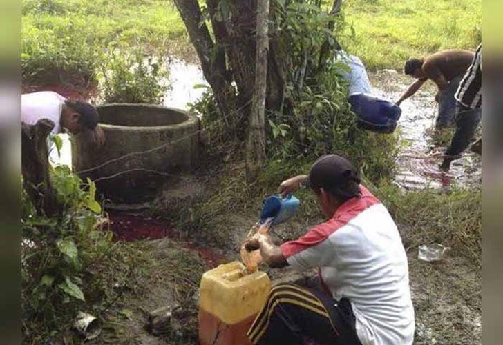 Aseguran toma clandestina y contenedores en Sonora