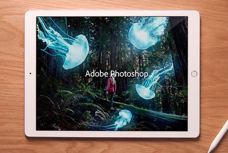 photoshop, apple, archivos PSD, ipad,
