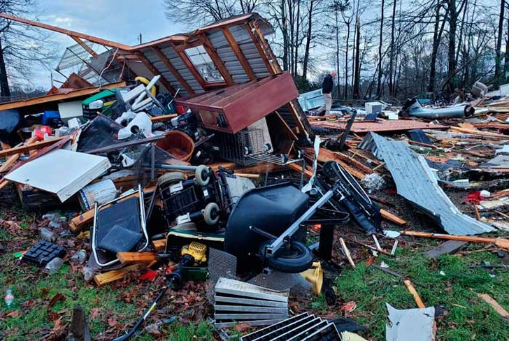 estados unidos, 11 muertos, tornados, florida, destruecicon, alabama,