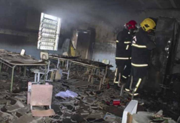 Vigilante incendia guardería con niños dentro, mueren cuatro de ellos