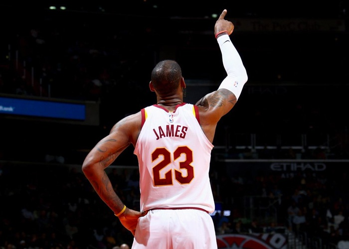 golden, state, warriors, nba, baloncesto, cleveland, cavaliers, balon, lakers, rockets, lebron james, boston, gordon, hayward-LeBron anota 57, Cavaliers vencen a Wizards