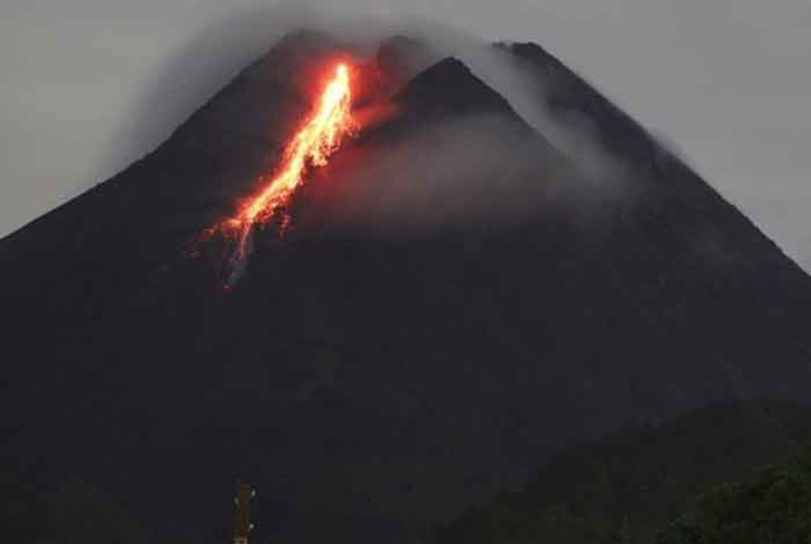 indonesia, erupcion, volcan merapi, desastres naturales,
