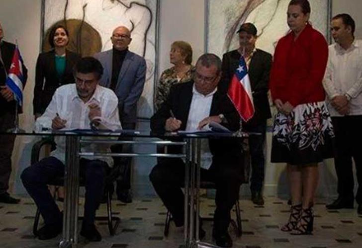 Presidenta chilena Michelle Bachelet llega a Cuba en visita oficial