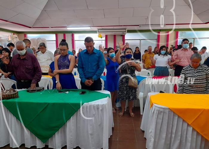 nicaragua, managua, celebracion de la biblia, comunidad cristiana, pastores, gobierno, paz, union,