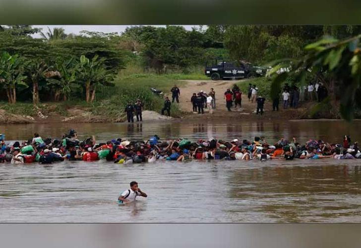 guatemala, rescate, migrante, rio, mexico, vivo,