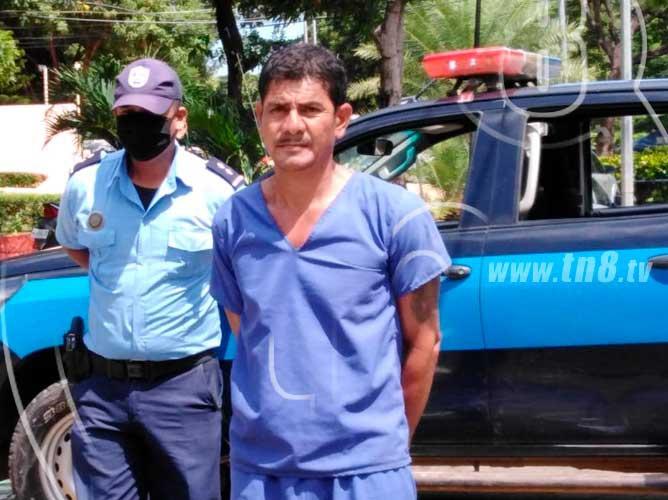 nicaragua, managua, policia, captura, sujeto, femicidio, ex pareja,