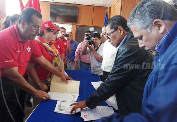 Alianza liberal se inscribe para comicios municipales en Nicaragua