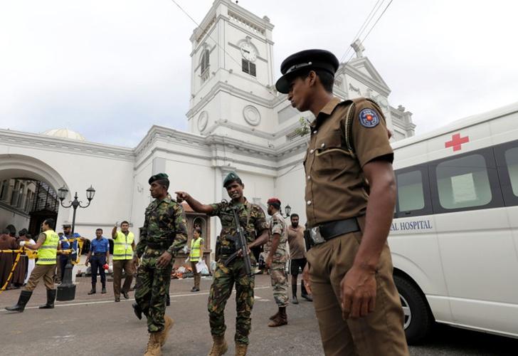 Alto cargo de Sri Lanka califica los ataques como venganza por Christchurch