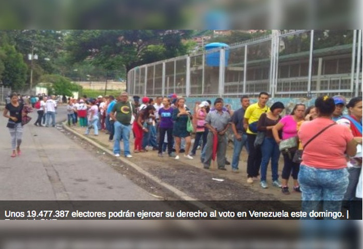Hoy en Venezuela triunfa la democracia y la paz — El Aissami