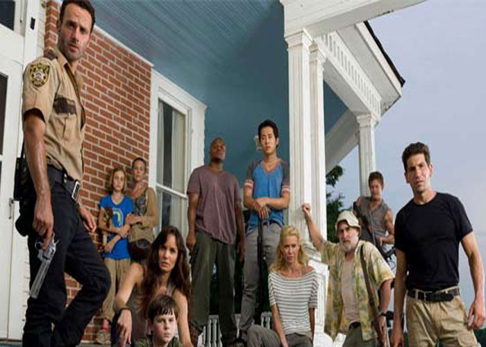 estados unidos, california, los angeles, hollywood, the walking dead, ha puesto a prueba a la audiencia,